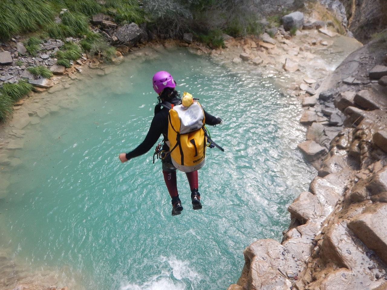 Descente de la Dranse à La Vernaz Morzine – Canyoning et rafting